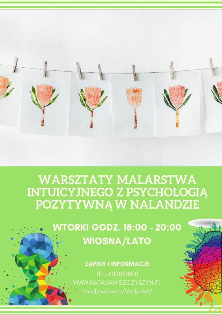 Zaproszenie na warsztat wtorkowy wiosna - lato 2019
